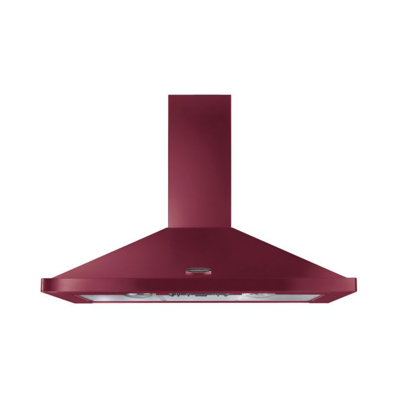 Rangemaster LEIHDC100CY/C 1000mm Chimney Cooker Hood - Cranberry/Chrome primary image