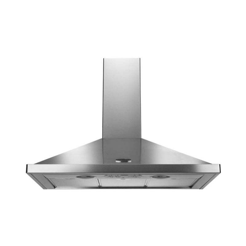 Rangemaster LEIHDC90SC 900mm Chimney Cooker Hood - Stainless Steel (No Rail) primary image