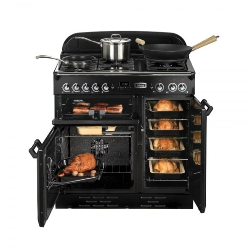 Rangemaster CLAS90NGFCR/C Classic 90 FSD Natural Gas - Cream/Chrome additional image 1
