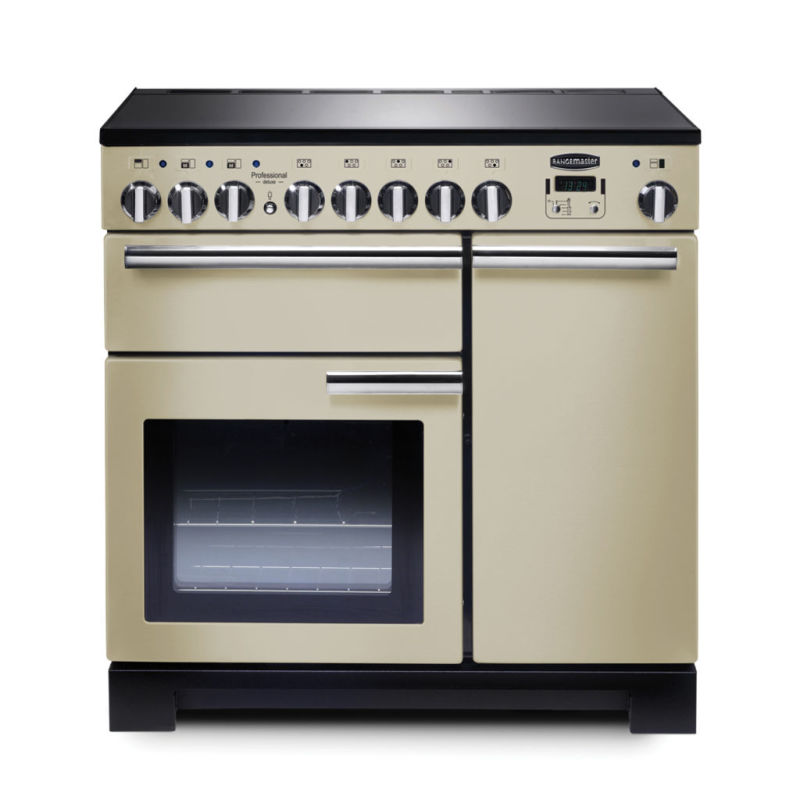 Rangemaster PDL90EICR/C Professional Deluxe 90 Induction - Cream - PDL90EICR/C primary image
