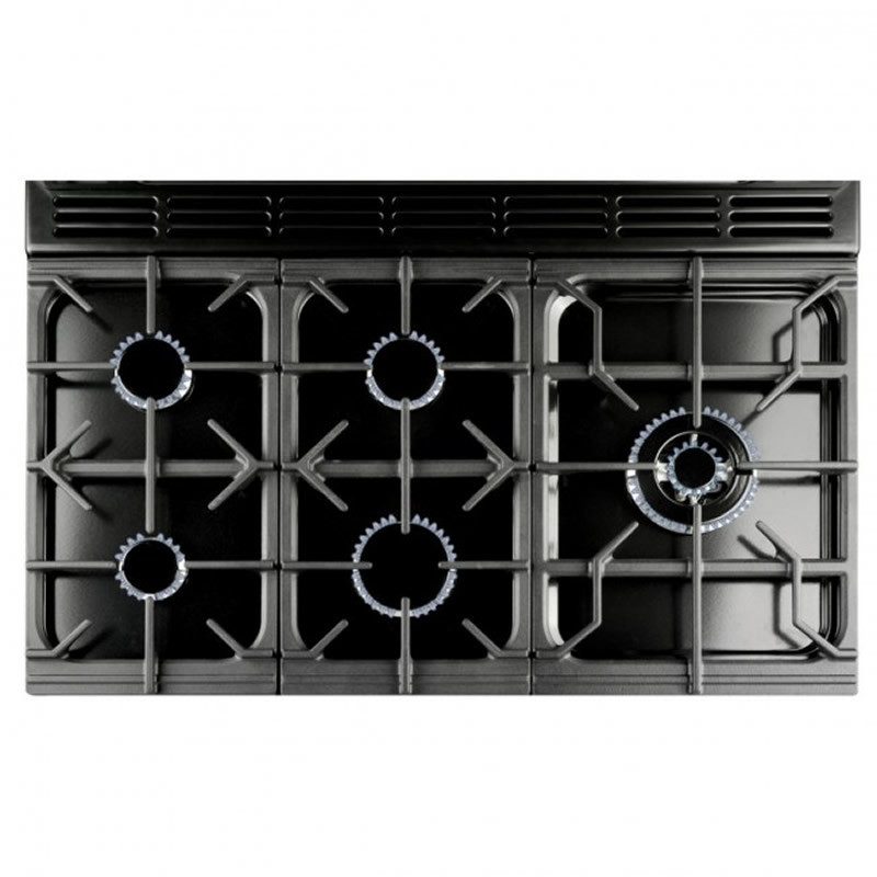 Rangemaster RMS90DFFBL/PDC 90 FSD Duel Fuel - Black additional image 1