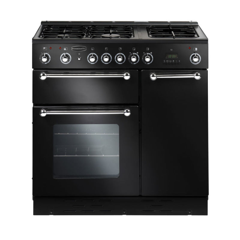 Rangemaster RMS90DFFBL/PDC 90 FSD Duel Fuel - Black primary image