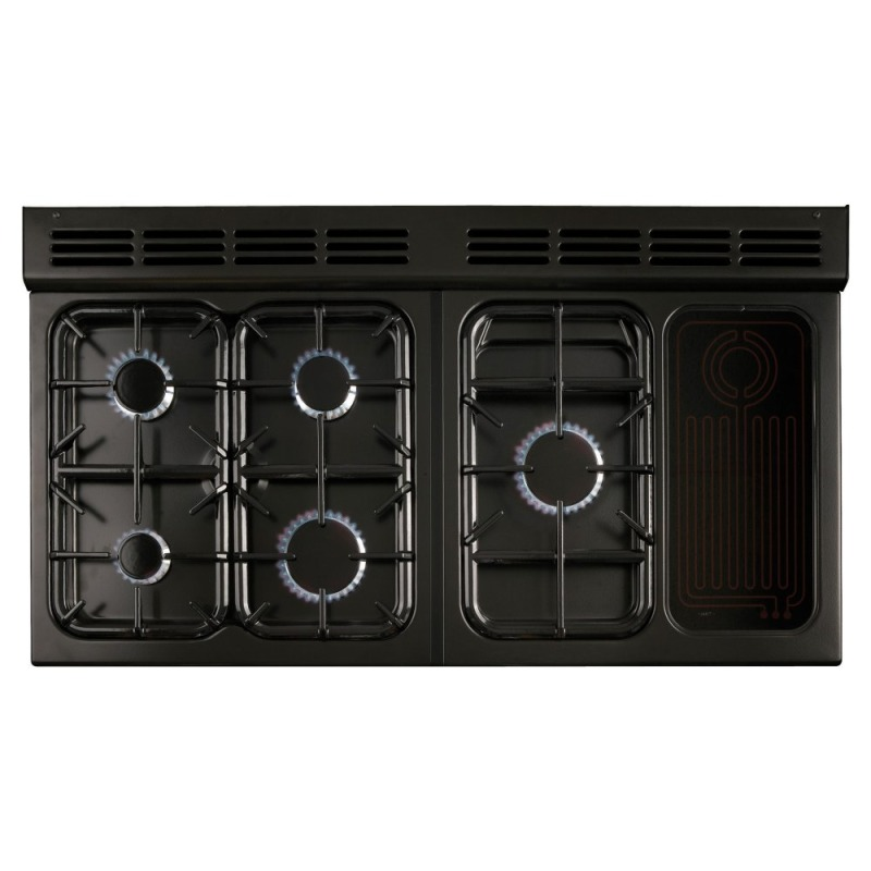 Rangemaster CLAS110NGFCR/C Classic 110 FSD Natural Gas - Cream/Chrome - CLAS110NGFCR/C additional image 1
