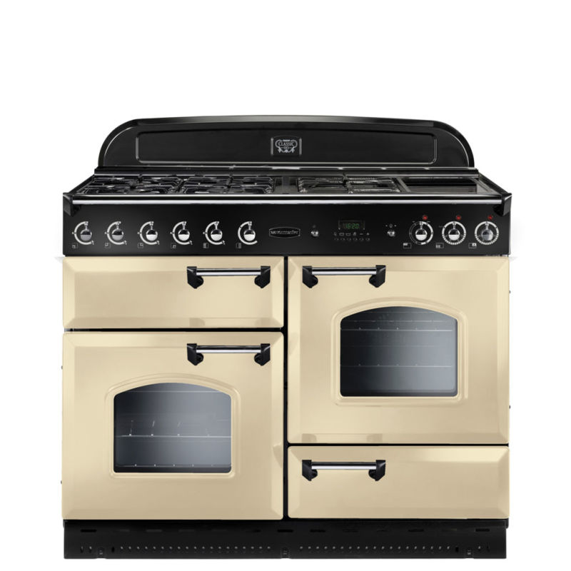 Rangemaster CLAS110NGFCR/C Classic 110 FSD Natural Gas - Cream/Chrome - CLAS110NGFCR/C primary image
