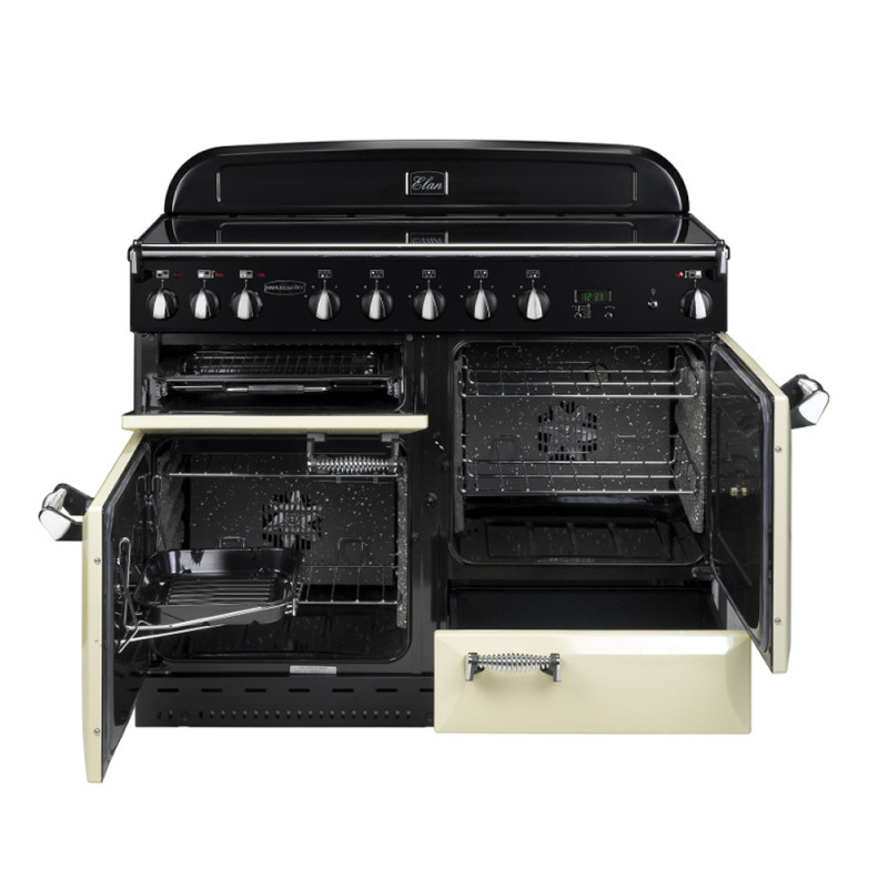 Rangemaster CDL110EICR/C Classic DL 110 Induction - Cream/Chrome additional image 1