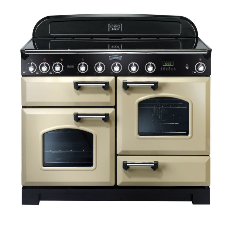 Rangemaster CDL110EICR/C Classic DL 110 Induction - Cream/Chrome primary image