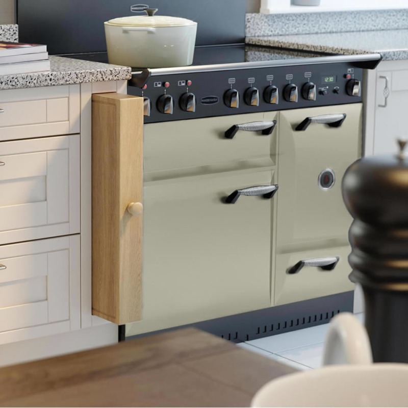 Rangemaster CDL110EITP/C Classic DL 110 Induction - Taupe/Chrome - ELAS110ECCR/ additional image 1