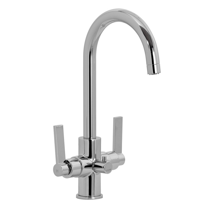 Zeus Filter Tap Chrome - High/Low Pressure primary image