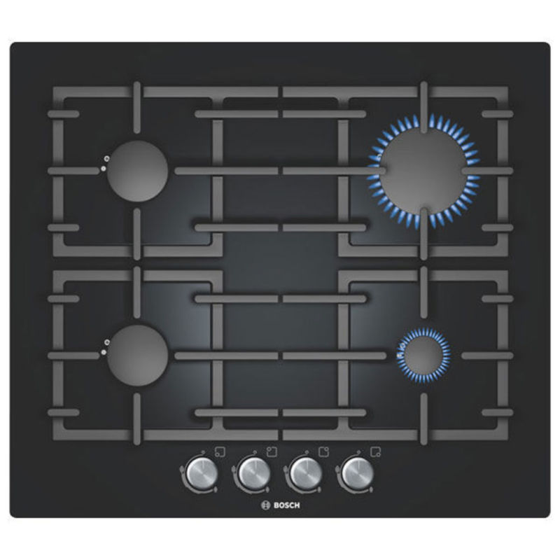 Bosch H43xW590xD520 Gas 4 Burner Hob - Black - PPP616B91E primary image