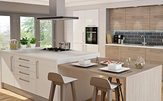 Autograph Driftwood Gloss Kitchen
