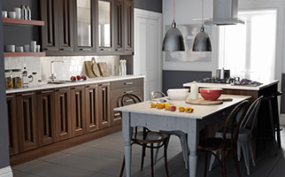 Classic Aida Walnut Kitchen