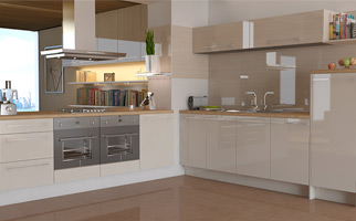 Autograph Stone Grey Gloss Kitchen