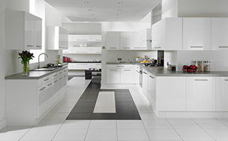 Autograph White Gloss Kitchen